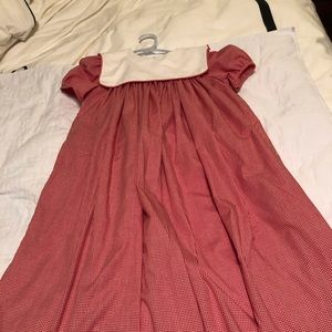 Other - NWTSize 7 Class Dress Monogram Ready Red and White